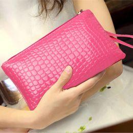 hotsale handy Rabatt Frau Handtasche Korean Handy Tasche Handtasche Mode Krokodil Handtasche Schulter Handtasche Neu für Frauen Qualität mit Reißverschluss Hotsale
