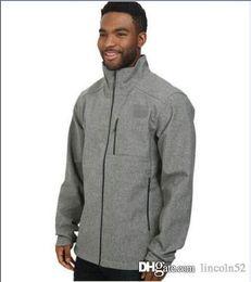 Wholesale face shell - HOT AAA North Men SoftShell Fleece Apex Bionic Jackets Outdoor Casual Windproof Face Warm Ski Coats Mens Fleece Soft Shell Womens Kids Suits