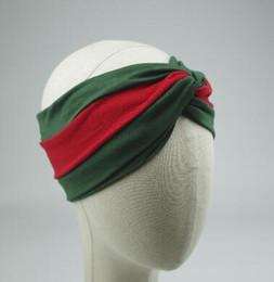 55 Hot Designer Cross Bandeau De Mode De Luxe Marque Élastique Cheveux bandes Pour Femmes Fille Rétro Turban Headwraps Cadeaux ? partir de fabricateur