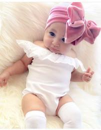Wholesale Velvet Hair Accessories - Christmas Toddler Princess Bow Headbands Infant Baby Girls Velvet Hairbands 2018 Babies Stretchy Hair Accessories