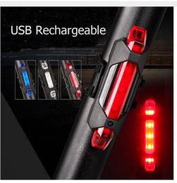 2019 luces de advertencia de seguridad Venta caliente de la bici LED de luz trasera USB recargable bicicleta Rears lámpara de seguridad Ciclismo de advertencia de las luces traseras envío gratis rebajas luces de advertencia de seguridad