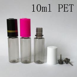 2019 plastikflasche Neuestes 10ml E flüssige Flaschen HAUSTIER transparenter Plastik 10ml Lippen-Form-Tropfflaschen-Nadelspitzen-Flasche mit ChildProof Kappen für Flüssigkeit Vape-Saft-E günstig plastikflasche