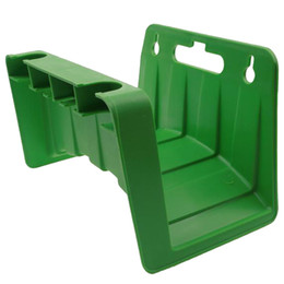 Wholesale hose pipe fitting - New Wall Mounted Garden Hose Pipe Holder Bracket Fit Cable Storage Hanger Shed Fence
