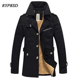 Stile britannico 2017 nuovo autunno giacca a vento da uomo cappotto coreano casual trench coat uomo trench coat mens trench da