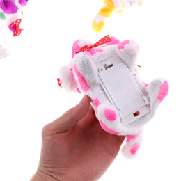 robot dog plush Promo Codes - Can Sing Walk Electronic Robot Dog Toys for Kids Gifts Interactive Electric Sound Pets Animals Electronic Pets Musical Dog Toys