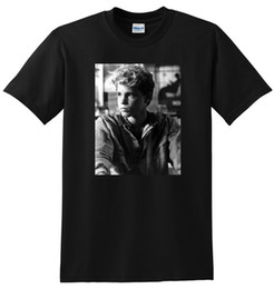 * NUEVO * COREY HAIM T SHIRT camiseta de póster de los años 80 jóvenes PEQUEÑO MEDIO GRANDE o XL Moda Hombre Algodón Negro Activado con sonido Led T camiseta desde fabricantes