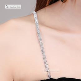 2019 robe diamante Accessoires réglables clair ceinture en cristal magnifique bal d'étage diamante strass soutien-gorge partie de soirée robe de sous-vêtements femmes promotion robe diamante