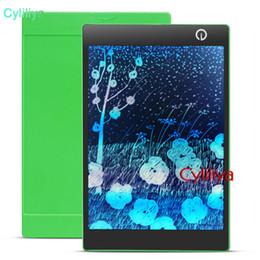 Canada 9,7 pouces couleur LCD tablette d'écriture électronique tableau noir pad écriture manuscrite numérique planche à dessin graphiques colorés blancs comprimés une clé claire Offre