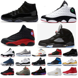 Zapatos de los deportes de motor online-Nike jordan retro jordans shoes 11 13 12 4 1 5 11s 13s 12s 4s 1s 5s Cheap Sale 13 IV Zapatillas de baloncesto Bred Sports Sneakers Hombres 13s NEGRO MOTORSPORT GAME ROYAL BLUE Zapatillas de baloncesto