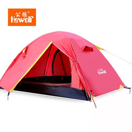 Wholesale Professional Construction - Hewolf four seasons aluminum pole upgrade professional outdoor camping tent