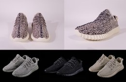 Wholesale Yellow Oxford Shoes - Boost 350 V1 Kanye West Oxford Tan Turtle Dove Moonrock Pirate Balck New Arrival Sport Sneakers Men Womens Running Shoes Casual With Box