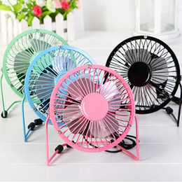 Portable mini USB fan for phone 360 rotatable small metal fans universal USB Fans for iphone 6 7 samsung galaxy s8 ipad tablets free DHL de