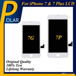 Wholesale capacitive touch ic - 100% Original backlight + Original IC + Perfect 3D touch Complete Display Digitizer Full Assembly For iPhone 7 iPhone 7 Plus LCD Screen