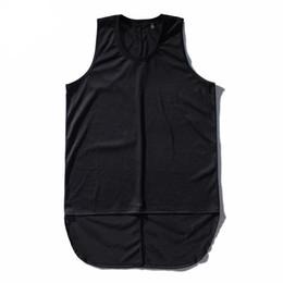 Мужские футболки мужские тренировки топы рубашки хип-хоп сетки удлинить рукавов мужской сплошной цвет дышащий негабаритных Майка supplier mens mesh tank tops от Поставщики мужские сетчатые топы