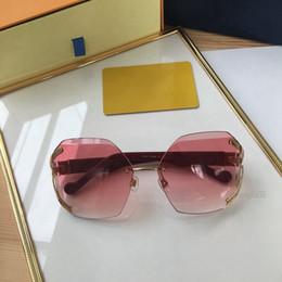 Canada Lunettes de soleil de luxe polygone lunettes de soleil femme acétate sans monture de marque pour vente lunettes de protection uv 61mm 0296 lunettes Offre