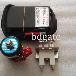 Wholesale ignition spark - 220-240V gas ignition control unit with sparking ignitor&solenoid valve, pulse black box auto gas lighter module for oven