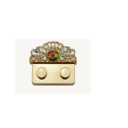 10 pz New fashion women bag corona oro turno twist lock press push lock metallo fermagli per borse fai da te accessori borse borse hardware da catene chiave all'ingrosso dell'automobile fornitori