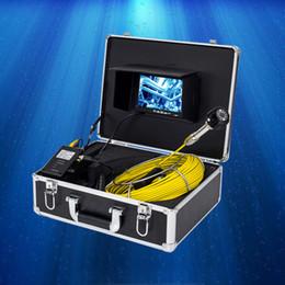 Système de caméra d'inspection en Ligne-Système de caméra de serpent d'inspection de tuyau d'égout de moniteur d'affichage à cristaux liquides de moniteur de 20M