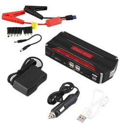 avviatore della batteria portatile Sconti Salta Banca di potere multifunzionale 68800mAH 12V 4 USB Mini Car Starter For Emergency Inizio Chargable Batteria