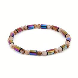 Bracelets de cheville sexy en Ligne-Vintage pierre biliaire cheville acrylique AB couleur cheville sexy charme bijoux de soirée perles Bohème cheville soutien FBA Drop Shipping H558Q
