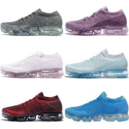 Wholesale Rainbow Shipping - hotsale Rainbow VaporMax 2018 BE TRUE Shock Kids Running Shoes Fashion Children Casual Vapor Maxes Sports Shoes free shipping