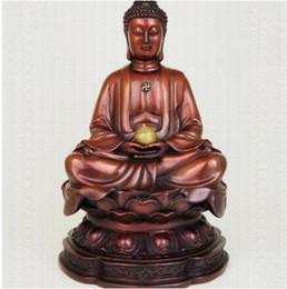 tibet bronze buddha Rabatt Chinesische Tibet Buddhismus Red Bronze Amitabha Tathagata Sakyamuni Buddha Statue
