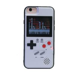 Mangas de jogo on-line-Mini jogo handheld consoles sílica tpu phone case capa protetora retro clássico game console 36 jogos para iphone678 plus xr xs max