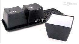 Por xícara on-line-Frete grátis Teclado copo xícara de moda por conjunto incluem ctrl del alt 3 peças A072
