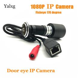 2019 câmera de segurança de vigilância de cor 2.0 M 1080 P HD Porta Interior Buraco Olho Cor IP Home Security Camera 170 graus de Rede de Vigilância Vedio Suporte para Câmera Onvif câmera de segurança de vigilância de cor barato