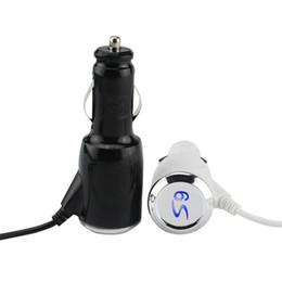 Пружина автомобильного зарядного устройства онлайн-Тип C 3.1 USB быстрое автомобильное зарядное устройство с пружинным кабелем для Samsung S9 S8 8 PLUS Type-C Автомобильная зарядка LED Light CAB277