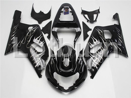 Wholesale Gsxr K1 Fairing - Motorcycle Fairing Kit Fit For Suzuki GSXR GSX-R 600 750 GSXR600 GSXR750 2001 2002 2003 K1 Fairings kit High Quality ABS Plastic A274