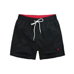 Wholesale cardigan pants - 2018-Summer Men Short Pants Brand Clothing Swimwear Nylon Men Brand Beach Shorts Small horse Swim Wear Board Shorts