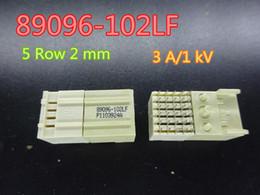 1 adet yeni 5 satır 2mm aralık ayar modülü soket konnektör 89096-102LF stokta ücretsiz kargo nereden kablo vga hd 15 tedarikçiler