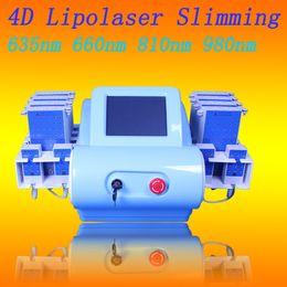 Diodi piccoli online-Spedizione gratuita 8 grandi 4 piccoli rilievi Diode LipoLaser Lipolysis Laser dimagrante macchina perdita di peso attrezzature per la cellulite body shaper