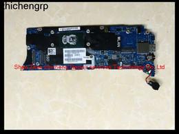 Placa mãe xps on-line-SZZC Para XPS 13 9350 laptop AAZ80 LA-C881P J07MR 0J07MR SR2EZ i7-6500U 16 GB motherboard RAM