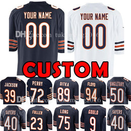 ace8510af football jersey 89 Promo Codes - Custom Chicago Jersey Bear 23 Kyle Fuller  89 Ditka 50