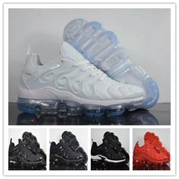Wholesale Patchwork Cushions - New Plus Vapormax TN Running Shoes 2018 Men Sneakers Run Sports Triple Casual Air Cushion Sport Athletic Outdoor Hiking Jogging Shoes 40-45