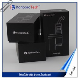 Wholesale Free Electronic Devices - Free shipping Kanboro Subdab 18350 battery wax vaporizer dry herb vape pen for electronic cigarette device