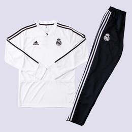 Frete Grátis new18 19 temporada casa real Madrid jersey terno de treinamento 2018 2019 casa treino de futebol jersey terno de treinamento MODRIC de