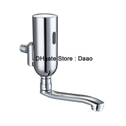 Wholesale Automatic Mixer Faucet - wall mounted hands free faucet mixer medical automatic washer touchless faucet spout for clinic room