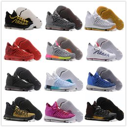Wholesale Kd Basketball Shoes Sale - 2017 Hot Sale KD 9 Elite 8 Basketball Shoes Men Kevin Durant 9 Top quality Sports Sneakers Size EUR 40-46