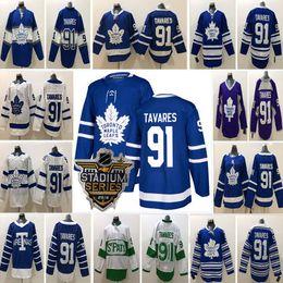 Free Shipping 2018 Newest Arrival Toronto Maple Leafs Jersey Stitched  91  John Tavares Hockey Jerseys Mens Women Kids S-3XL 9280d95f1