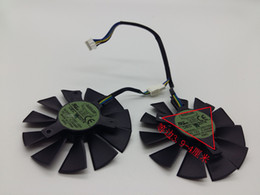 Wholesale Graphics Cards Asus - New Original EVERFLOW T128010SH 12V 0.25A diameter 85mm Pitch 39*39*39mm with 4 Pins For Asus STRIX GTX960 GTX750TI Graphics Card Cooler Fan