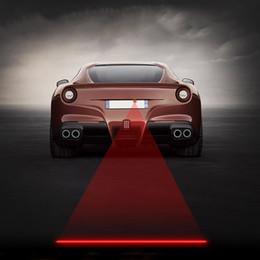 Anti-colisão on-line-Anti-Colisão Rear-end Luz de Nevoeiro Do Carro Auto Brake Lâmpada de Estacionamento Luz de Aviso Traseiro Do Carro Lâmpada A Laser 5 padrões Disponíveis