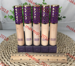2019 luz Contour Concealer Concealer 5 cores Light Light Light-medium Medium Light areia 10ml fundação líquida foto real 1 pcs ePacket luz barato