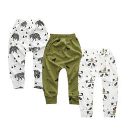 3 Unids / lote Leggings Atutmn Dibujos Animados Bebé Leggings Niños Pantalones Pantalones Harem Bebé Niño Pantalones Ropa de Bebé Recién Nacido DKZ210 desde fabricantes