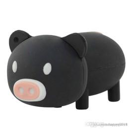 2019 cerdo palo Fantástico dibujo animado Usb Flash Drive Cute Pig Pen Drive 32GB Regalo Usb Stick 5 COLORES nueva llegada U56 rebajas cerdo palo