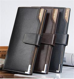 2019 portefeuille en carbone Le style de boucle longue de portefeuille en cuir de nouveaux hommes peut être paquet de carte portefeuille occasionnel mode portefeuille