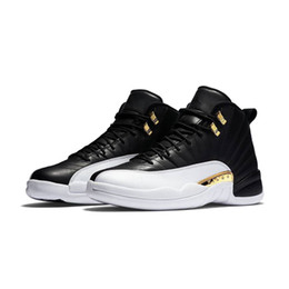 Wholesale body game - 2018 New 12 XII Basketball The Master TAXI Playoff Flu Game Women Mens Running Sports Designer Luxury Shoes For Men Sneakers Brand Trainers
