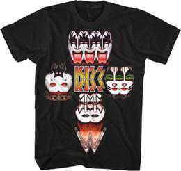 Bilder für t-shirts online-KISS - Mirrored Image - T-Shirt S, M, L, XL, 2XL Brand New - Official Merchandise